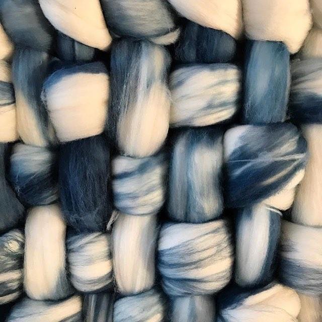 indigo-wool